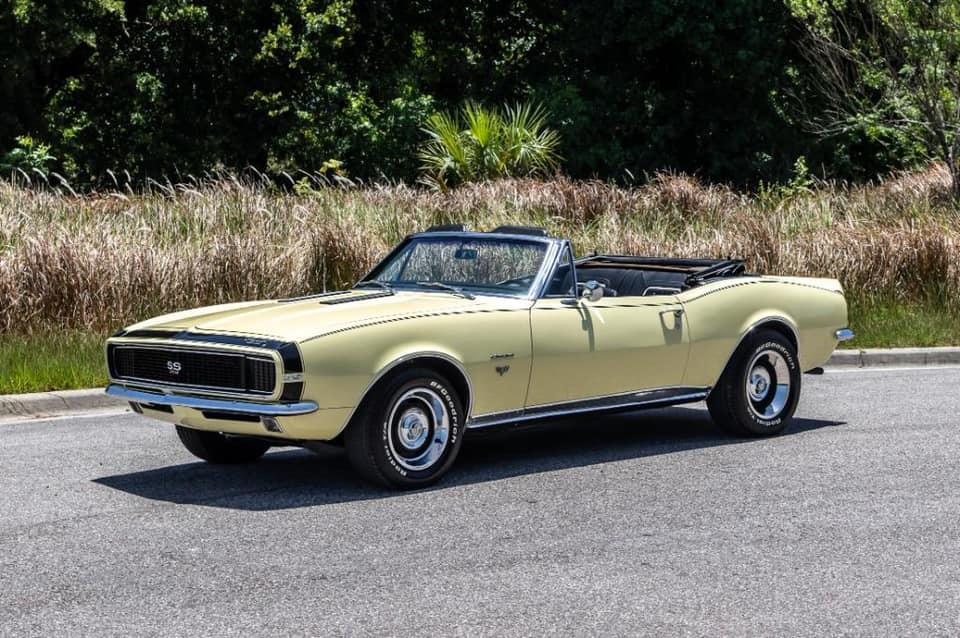 1967 Chevrolet Camaro RS SS Convertible.